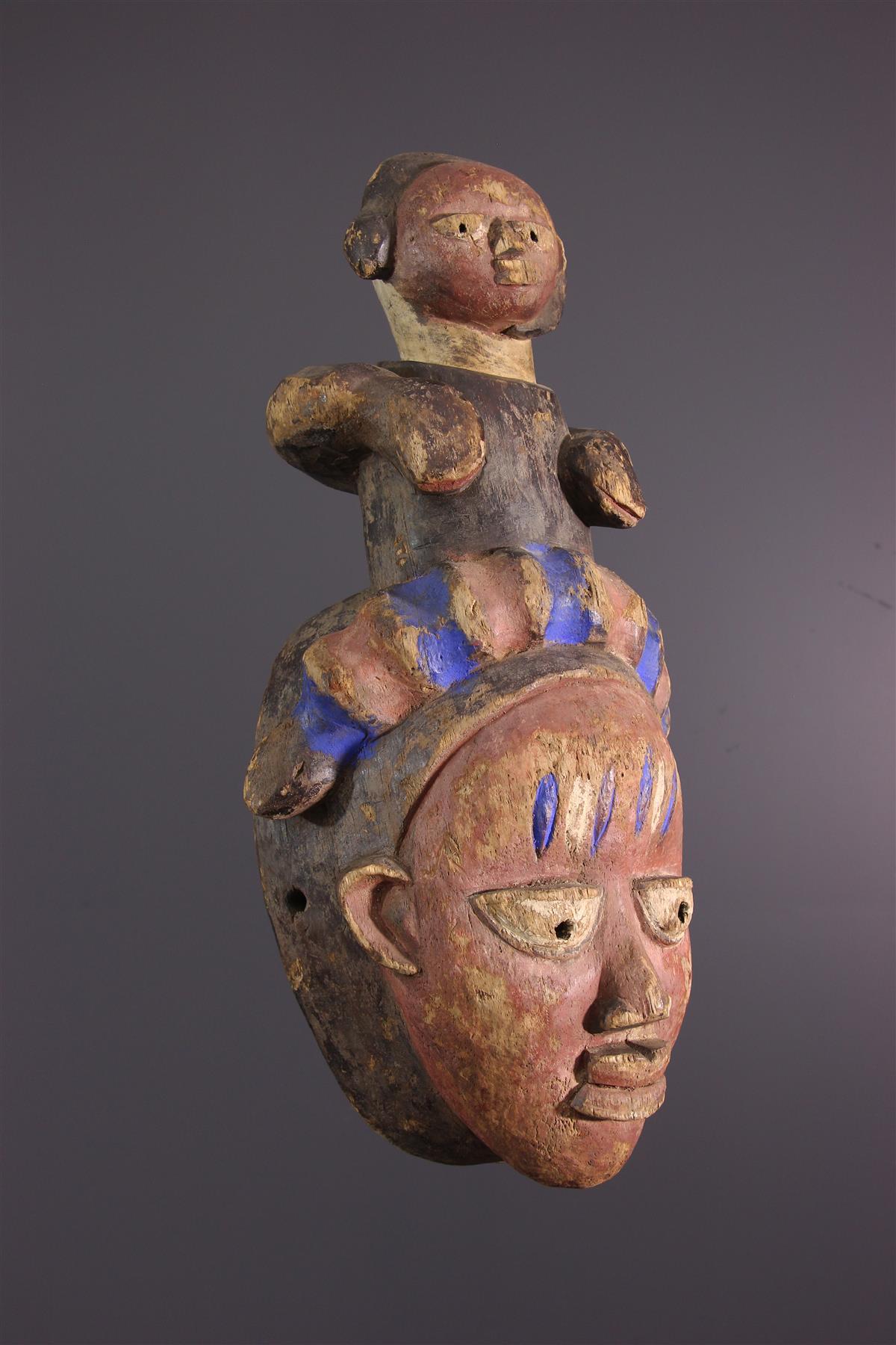 Masque Yorouba - Art africain