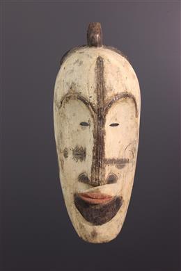 Grand masque Fang du Ngil