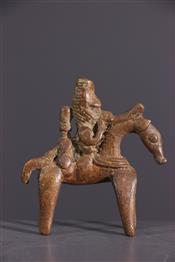 bronze africainCavalier Sao