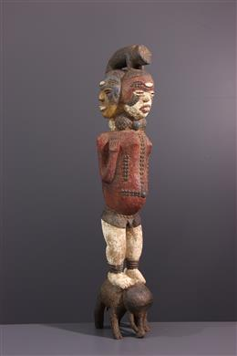 Art africain - Figure totémique Kuyu