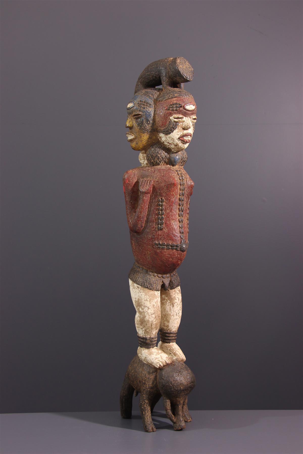 Statue Kuyu - Art africain