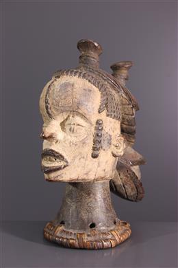 Art africain - Masque cimier Idoma