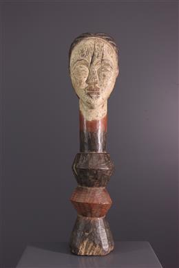 Figure de reliquaire Lumbu, Loumbo, Mbumba