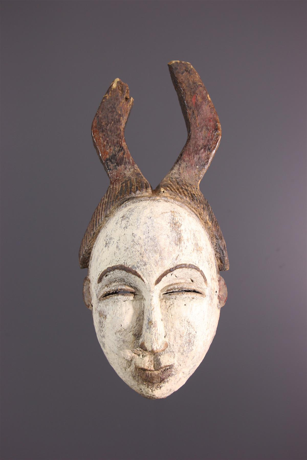 Masque Lumbu - Art africain