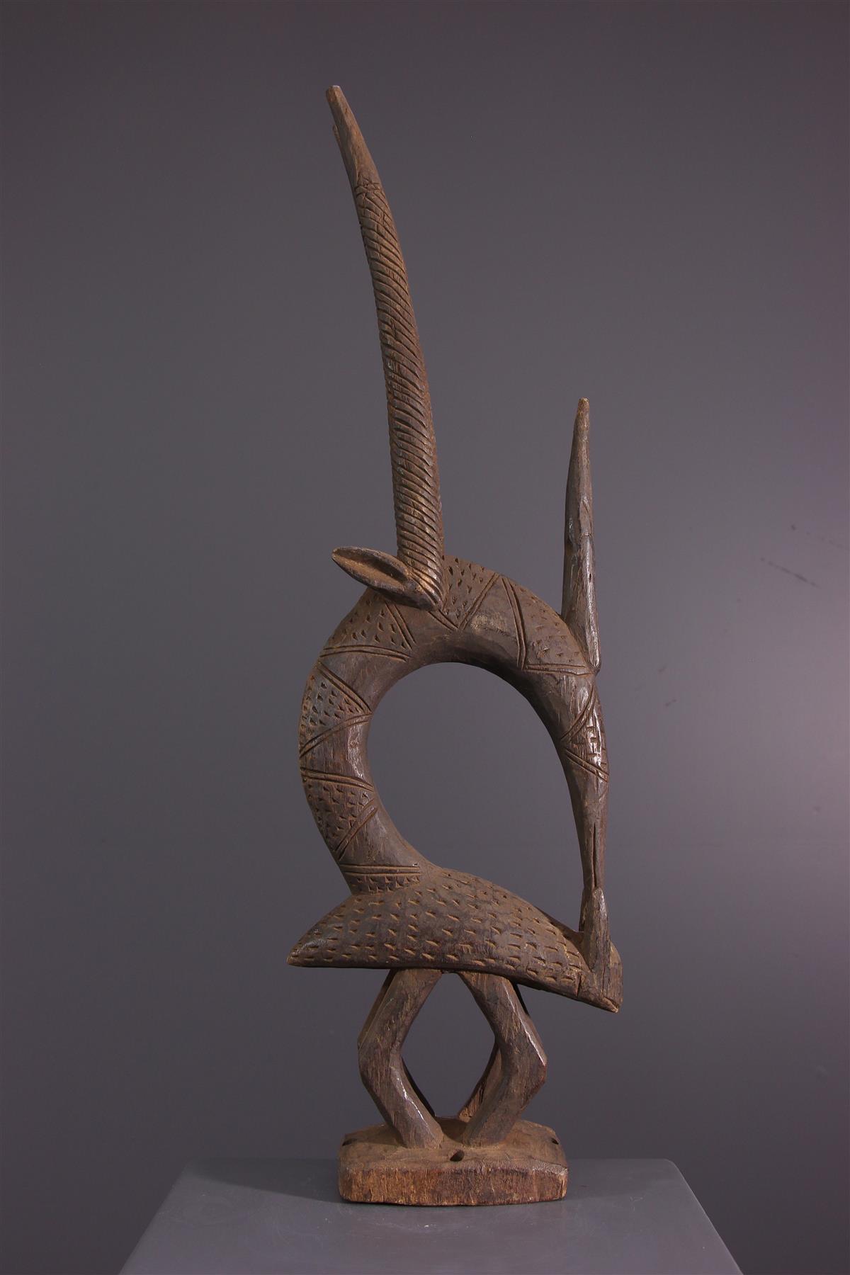 Cimier Ci Wara - Art africain
