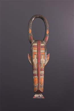 Masque Douala Nyatti de la société Ekongolo