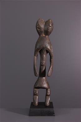 Statuette janiforme Mumuye