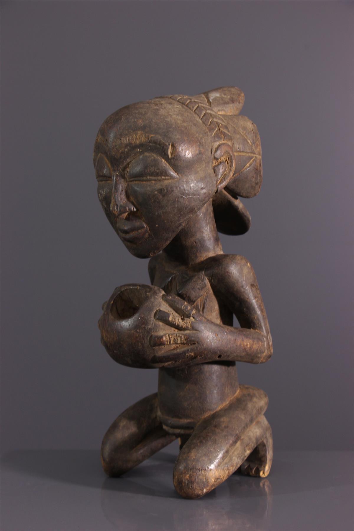 Statue Luba - Art africain