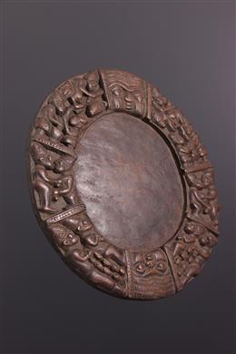 Plateau de divination Opon Ifa Yoruba