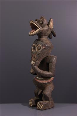 Figure bicéphale Mambila