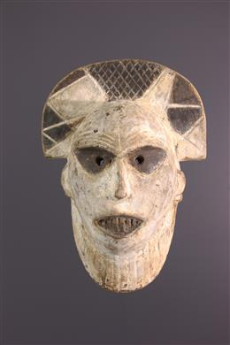 Art africain - Masque facial Tetela