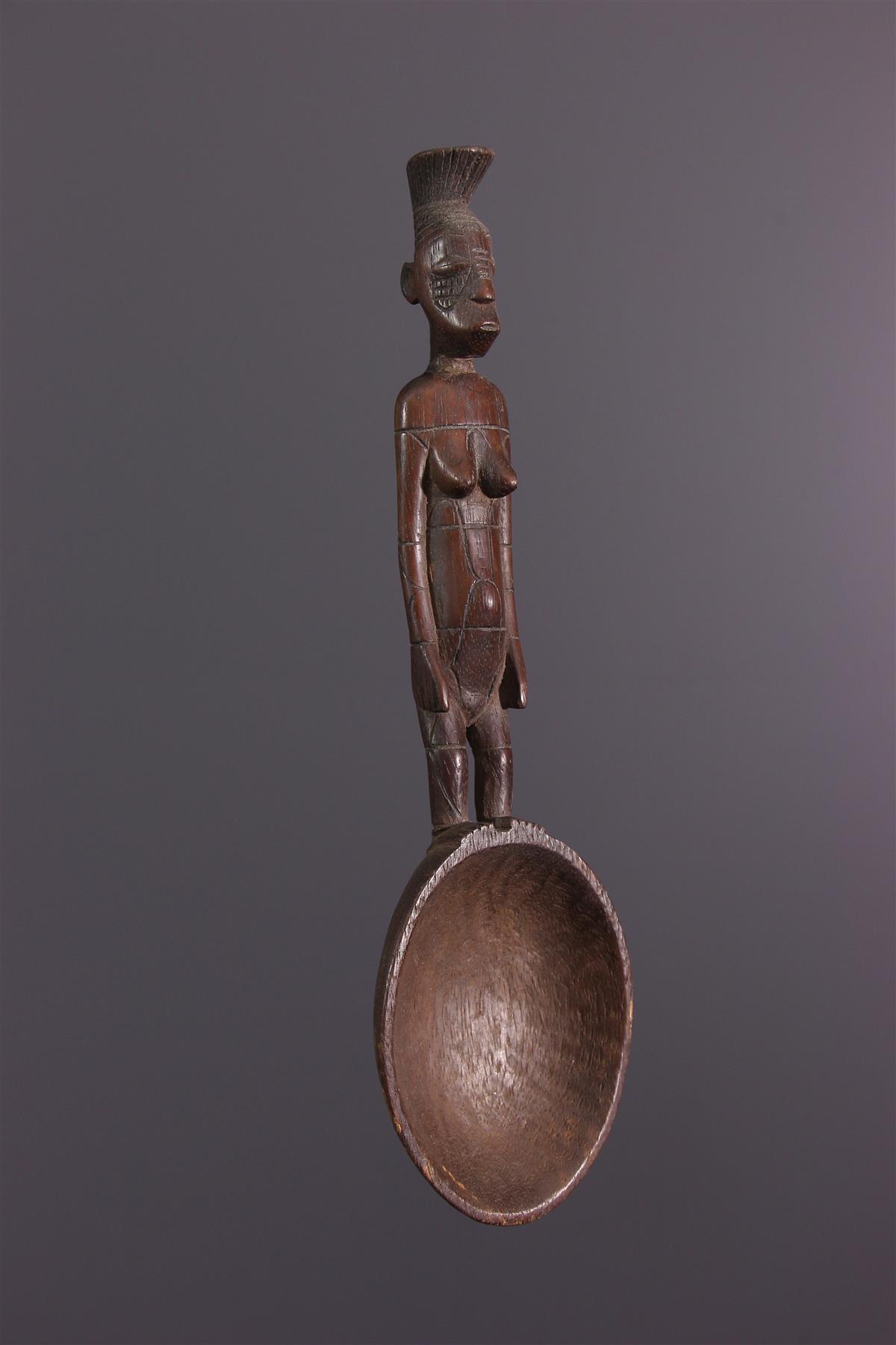 Cuillère Mangbetu - Art africain