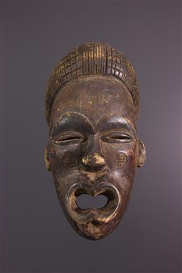 Art africain - Masque Chokwe / Lwena