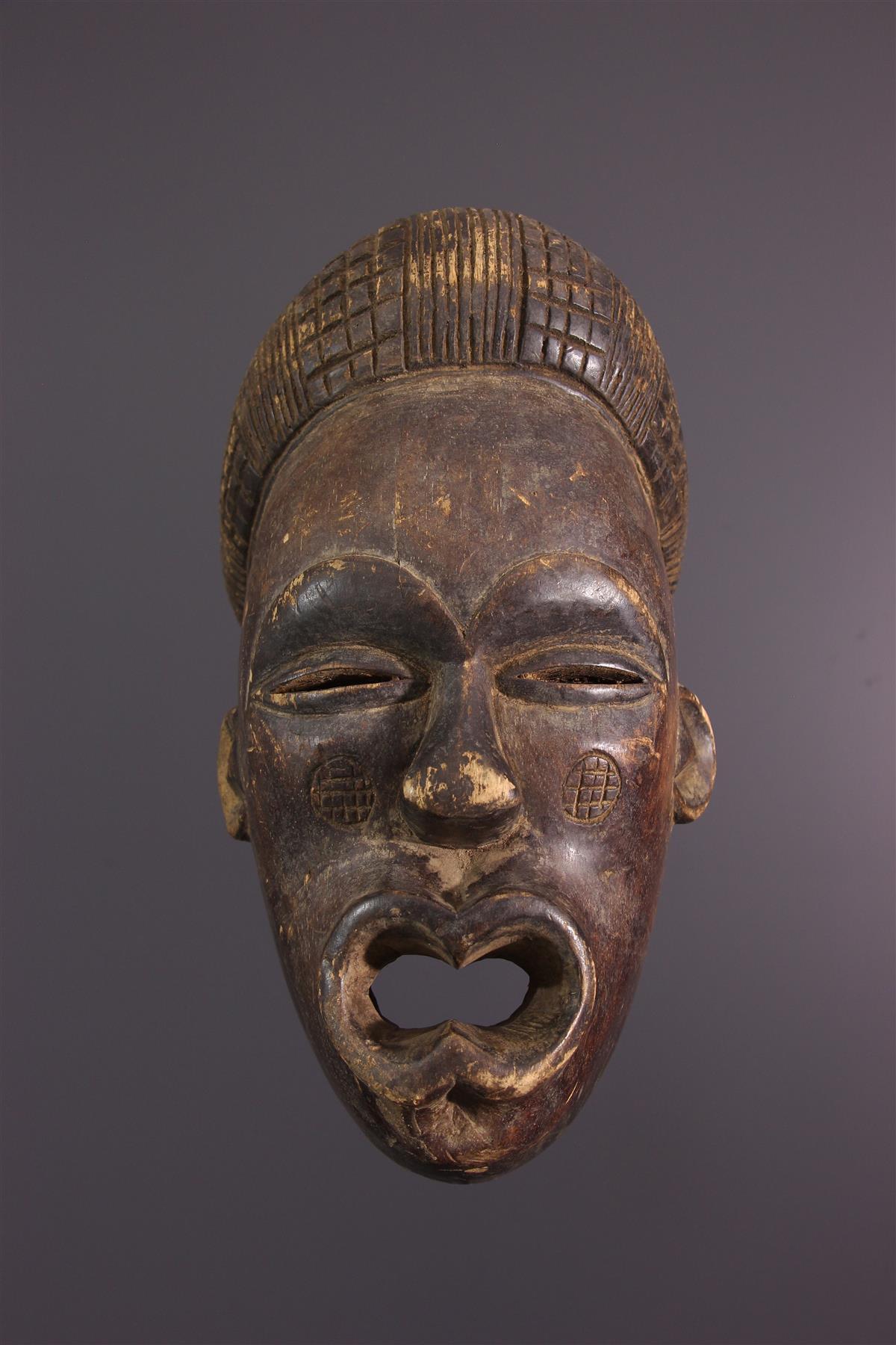 Masque Lwena - Art africain