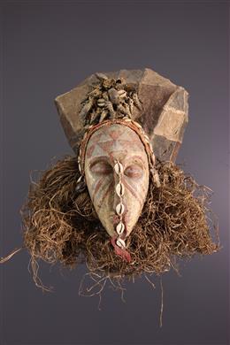 Art africain -  Masque Ngaady A waash - Kuba /Bushoong