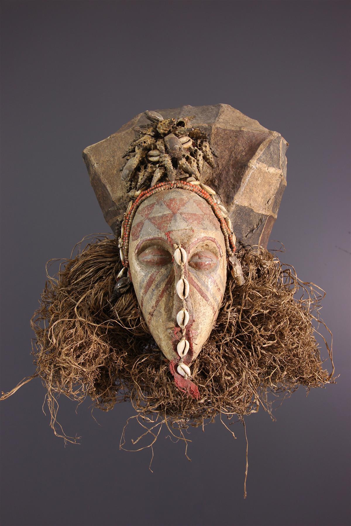 Masque Bushoong - Art africain