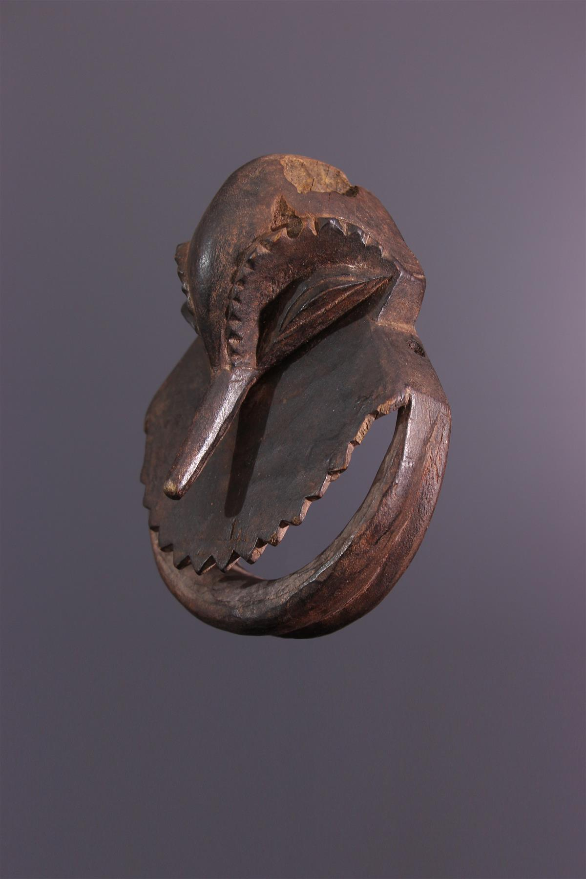 Masquette Hemba - Art africain