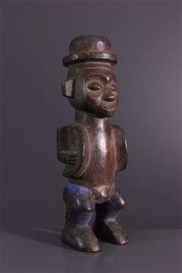 Art africain - Statuette fétiche Zombo