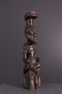 Art africain - Statuette Ndop Kuba