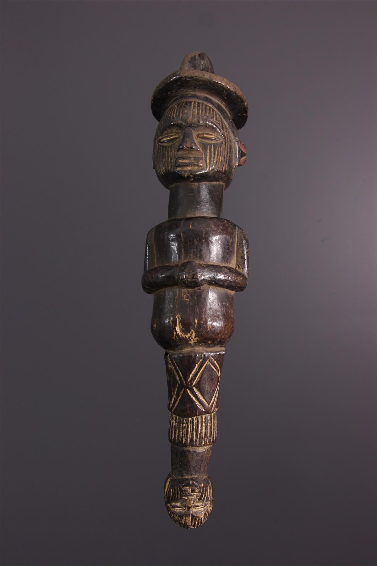 Sceptre Téké - Art africain