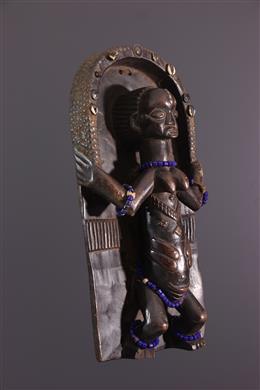 Art africain - Planche sculptée Luba