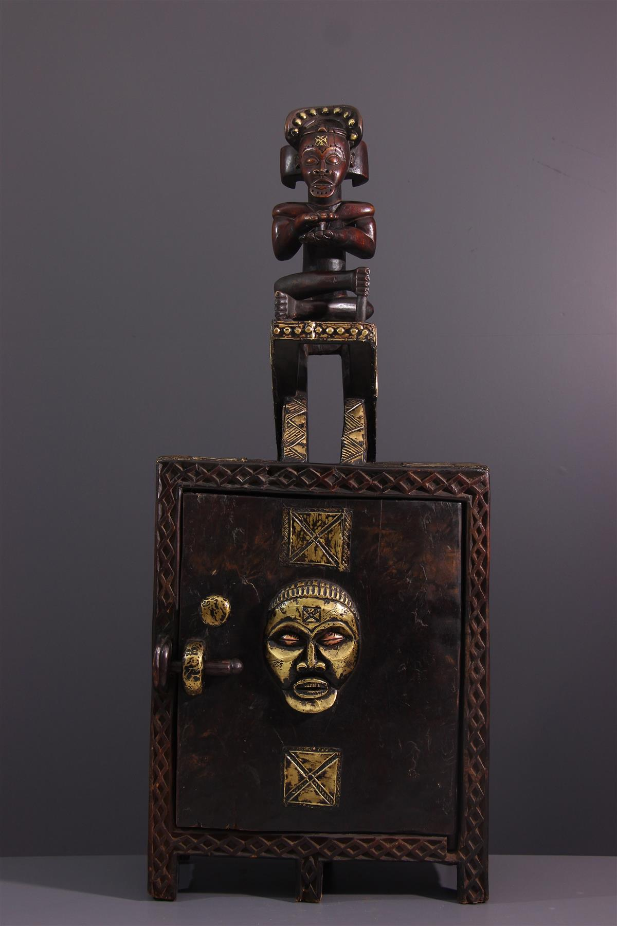 Coffre Chokwe - Art africain