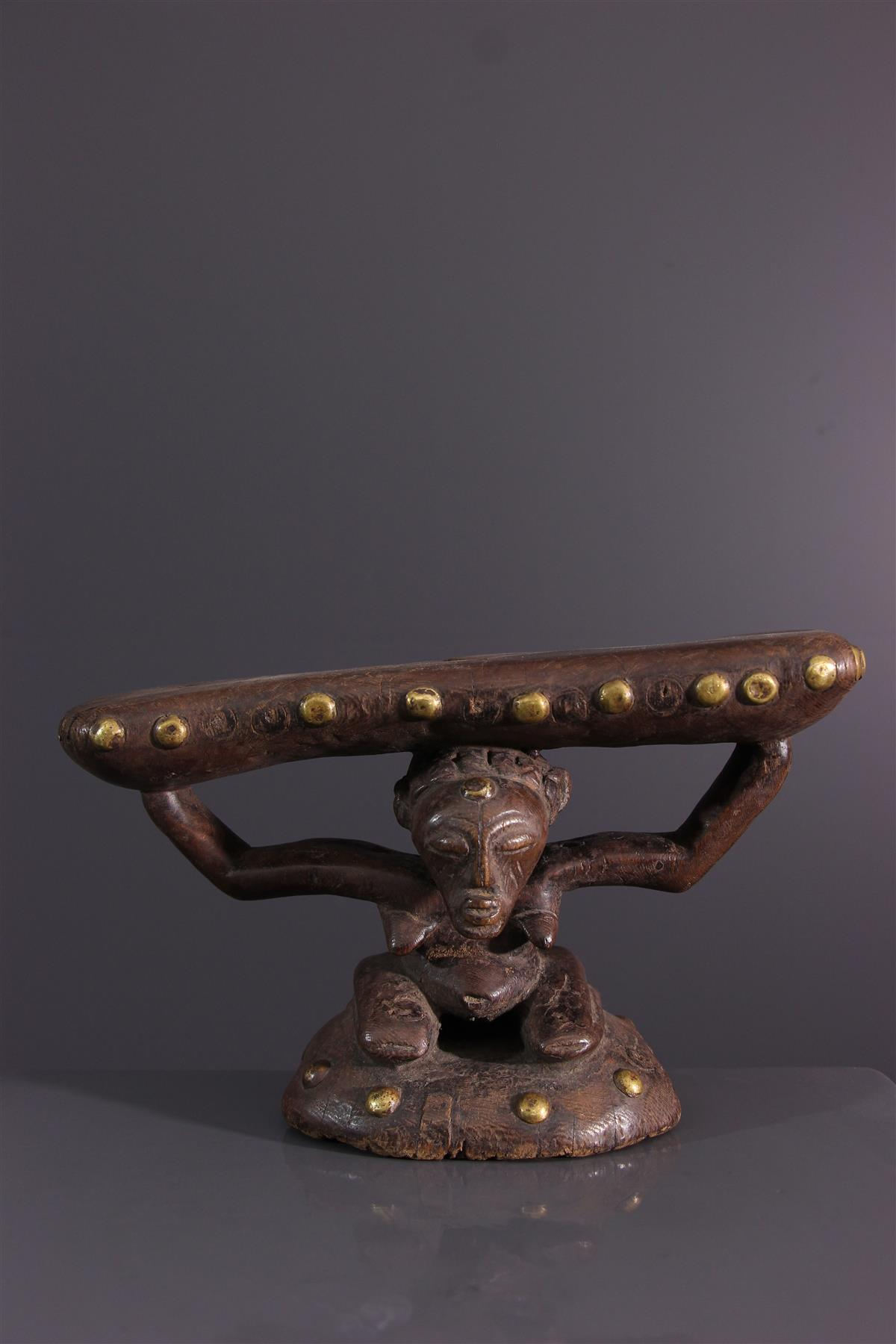 Appuie-nuque Songye - Art africain
