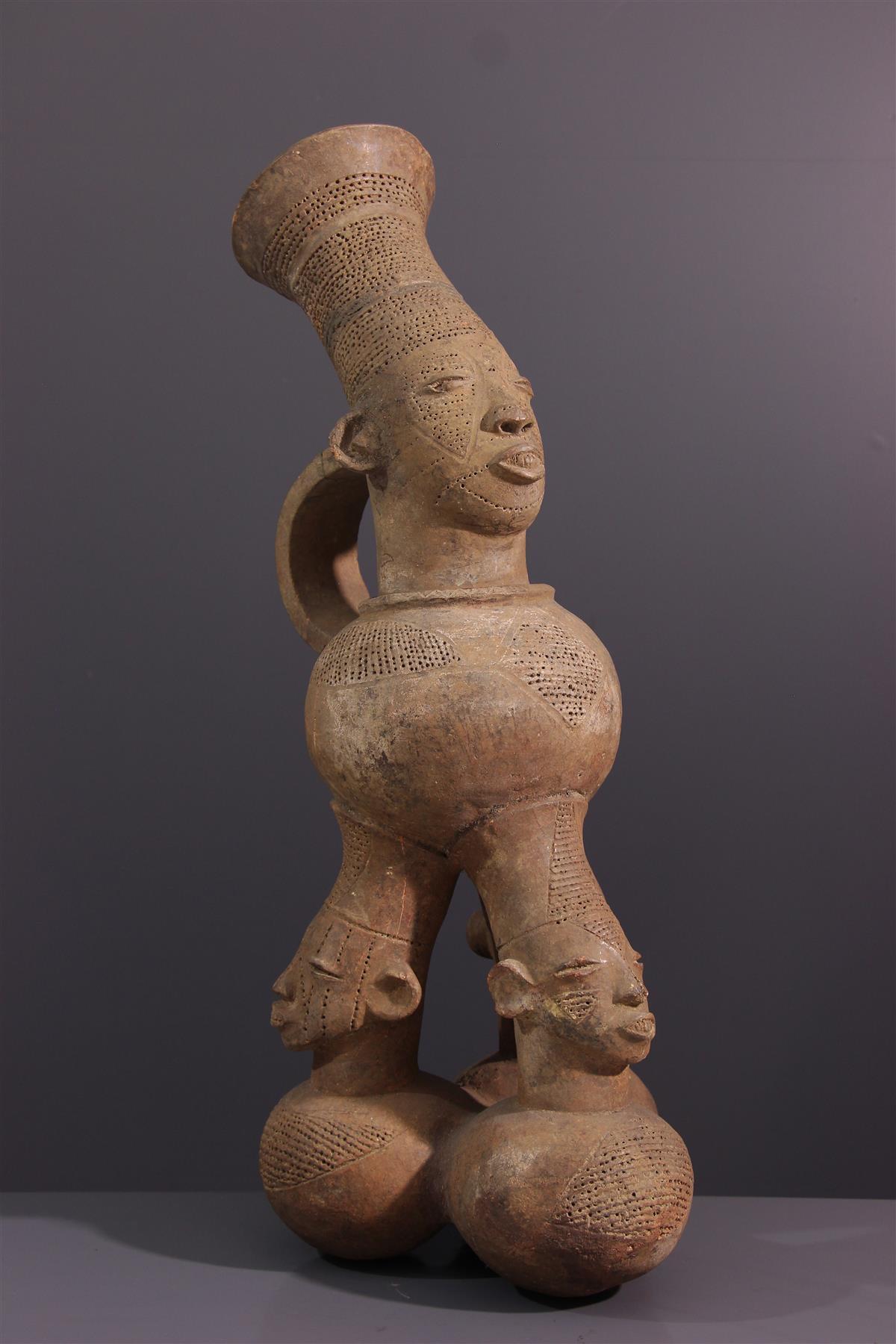 Jarre Mangbetu - Art africain