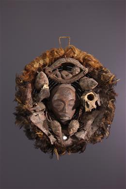 Art africain - Panier divinatoire Chokwe