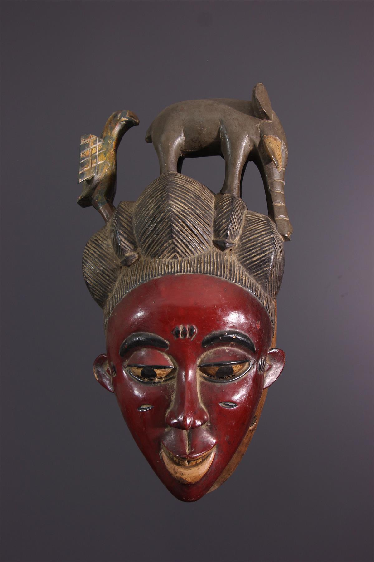 Masque Zaouli - Art africain