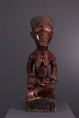 Art africain - Figure de maternité Yombe Pfemba