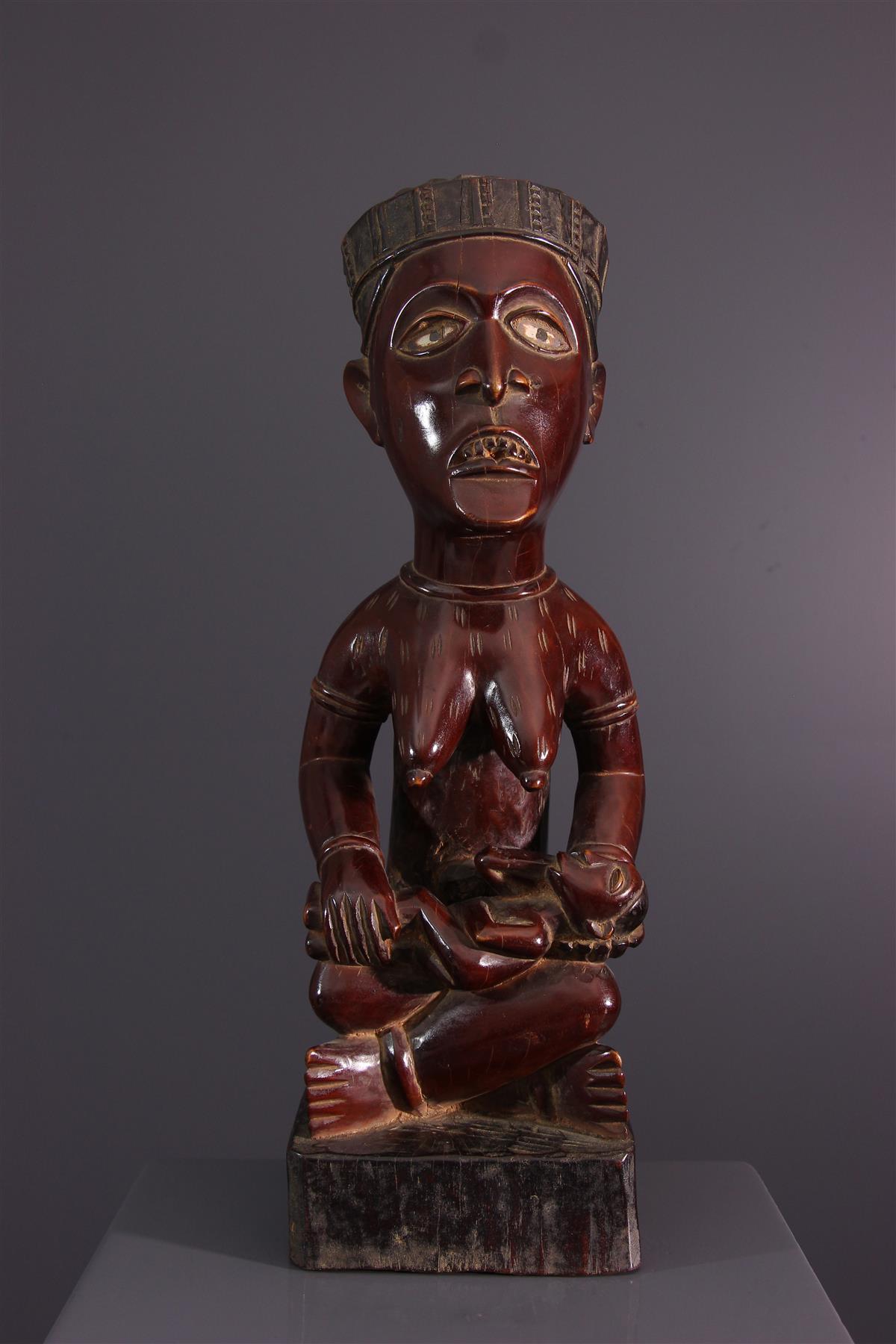 Statue Yombe - Art africain