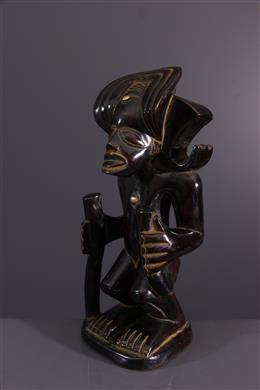 Statue d ancêtre Chokwe Chibinda Ilunga