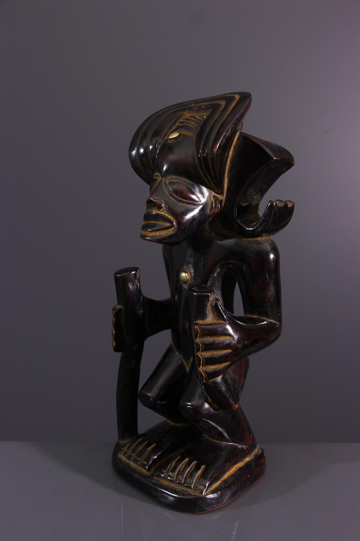 Statuette Chokwe - Art africain