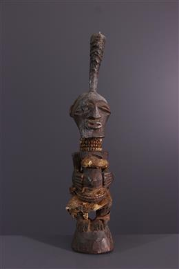 Art africain - Statuette fétiche Songye Kalebwe