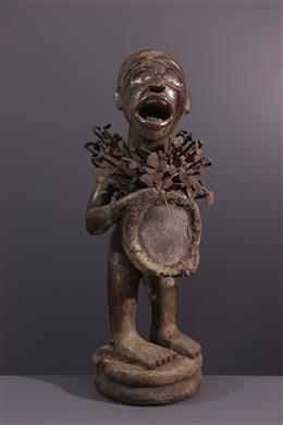 Art africain - Statue Nkisi Kongo Yombe
