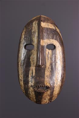 Art africain - Masque Kumu, Komo de l Uituri