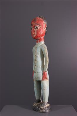 Statue colon Baoulé Blolo bia