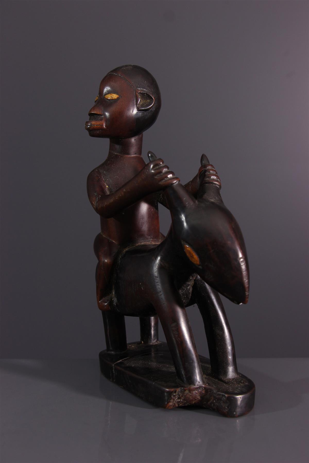 Cavalier Bembé - Art africain