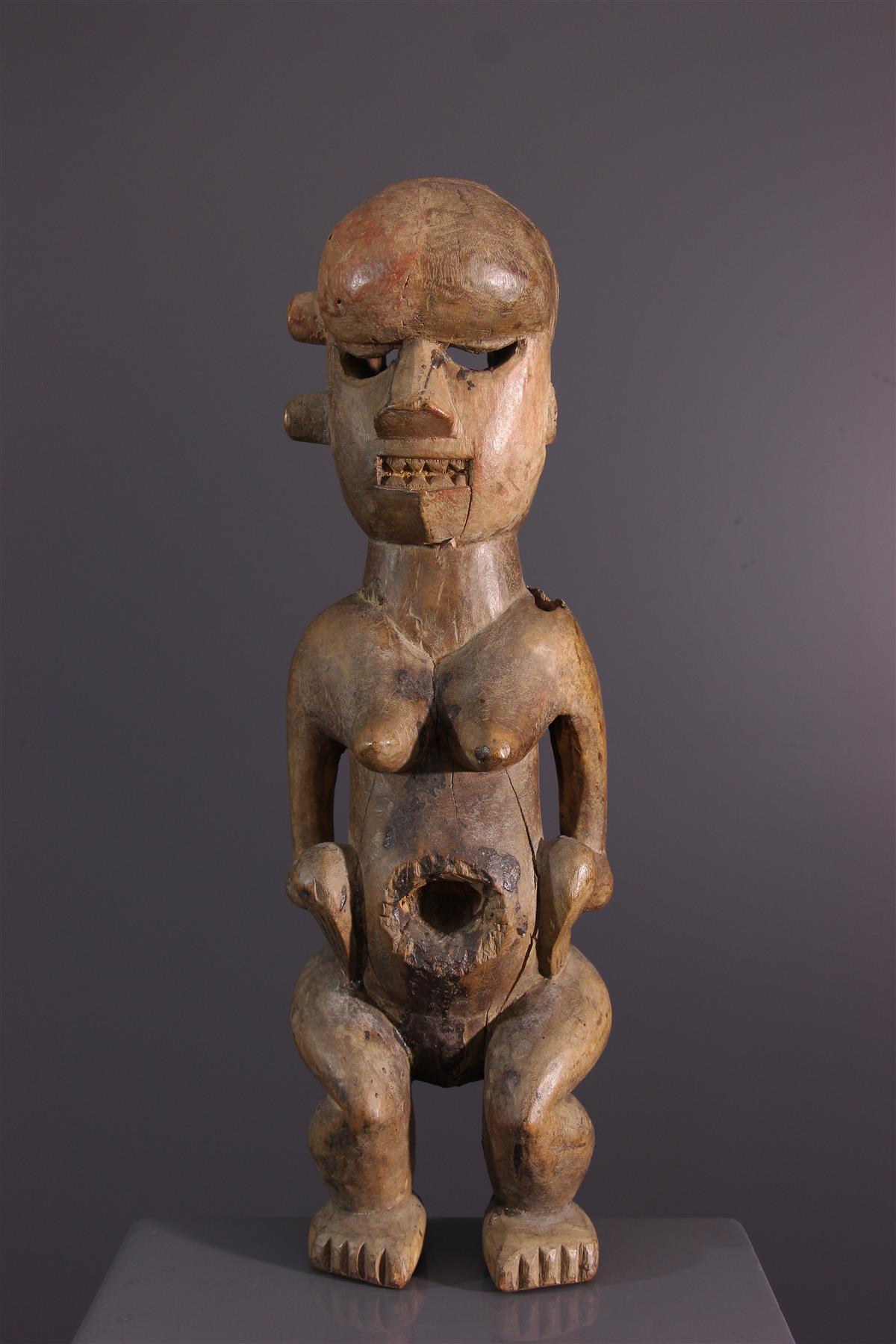 Statue Salampasu - Art africain