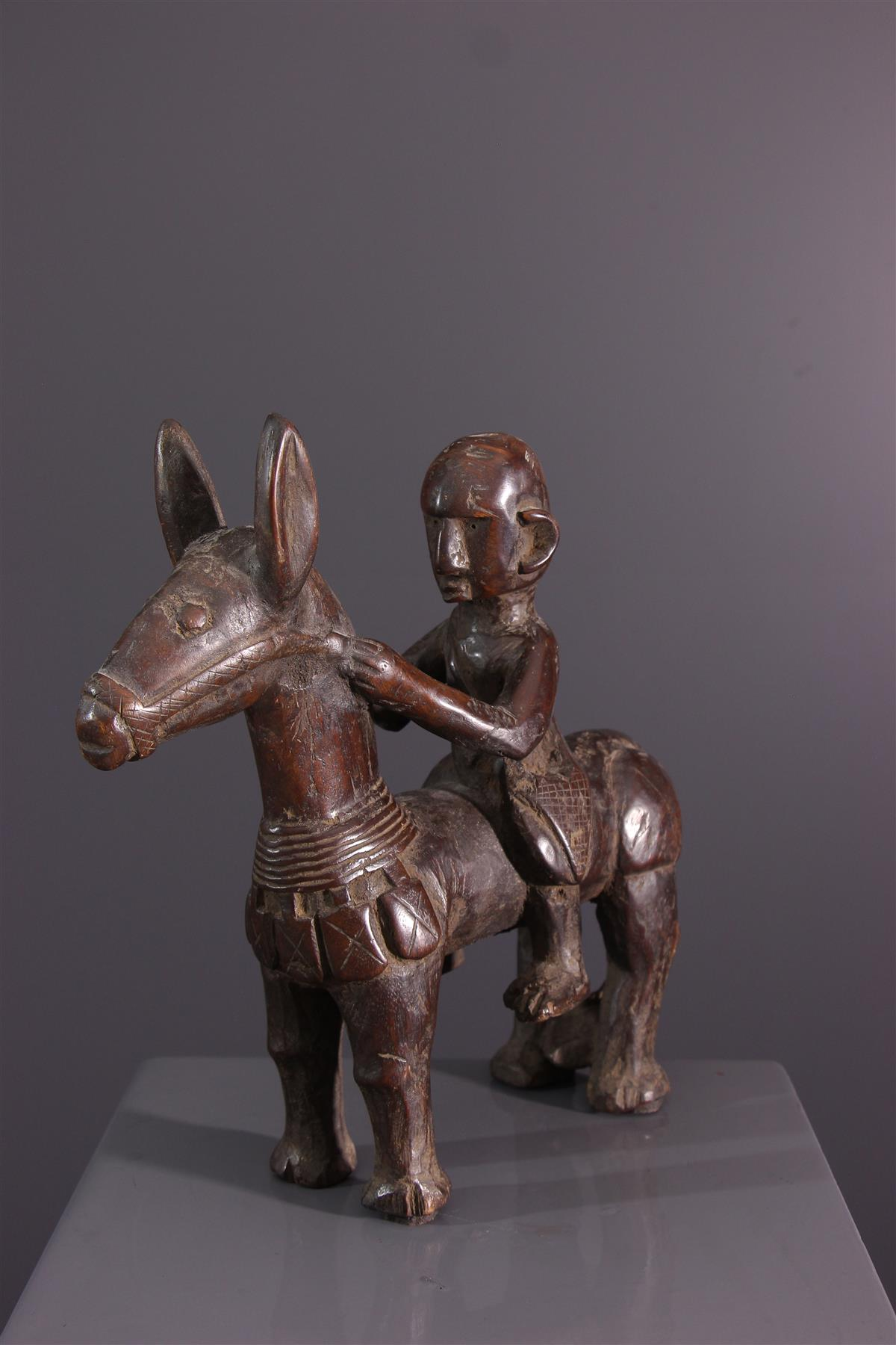 Cavalier Bambara - Art africain