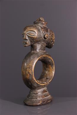 Art africain - Oracle de divination Luba Katatora