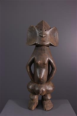 Art africain - Statuette Zande