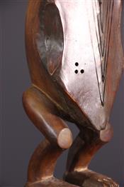 Instruments de musique, harpes, djembe Tam TamHarpe Fang