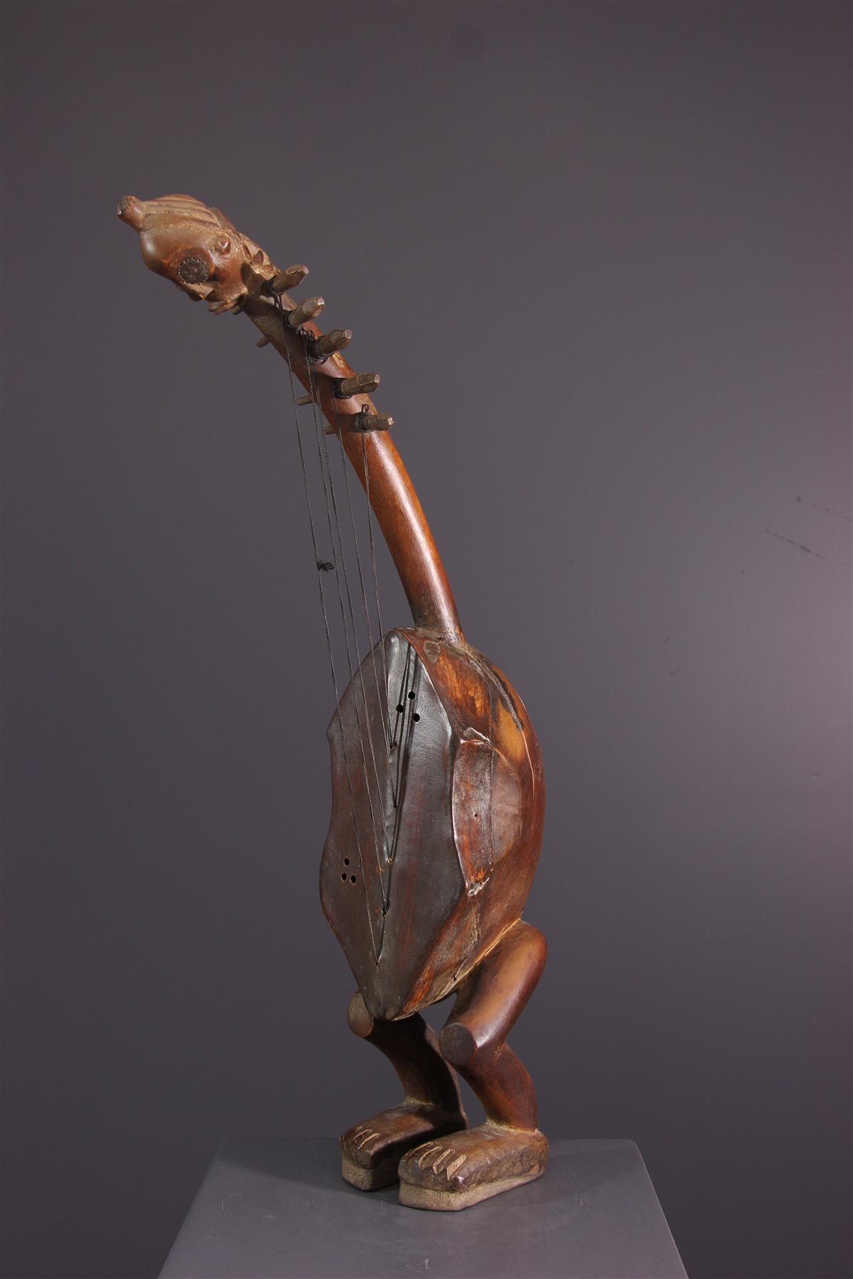Harpe Fang - Art africain