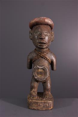 Art africain - Figure de pouvoir Nkisi Kongo Vili