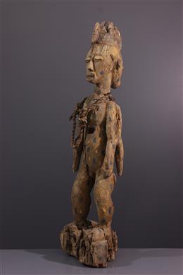 Statue reliquaire Urhobo  janiforme