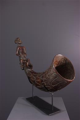 Trompe rituelle Mangbetu / Nzakara