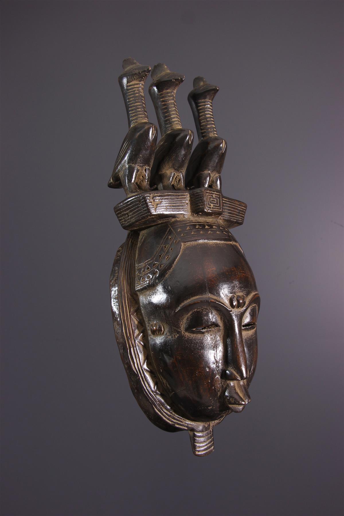 Masque Yaoure - Art africain