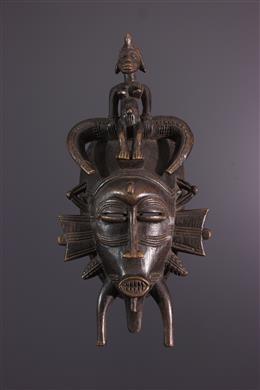 Art africain - Masque Senoufo Kpeliye